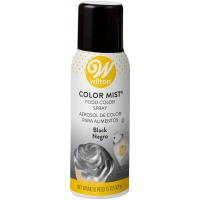 Wilton Edible Food Color Mist Black Spray