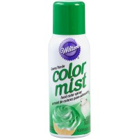 Wilton Edible Food Color Mist Green Spray
