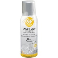 Wilton Edible Food Color Mist Silver Spray