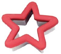 Comfort Grip Cookie Cutter Holiday Star