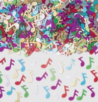 Confetti Musical Notes