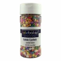 Confetti Pastel Stars 2.8 OZ