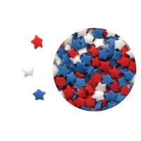 Confetti R/W/B Mini Stars 5 #