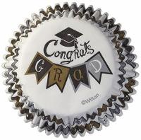 Congrats Grad Baking Cup 75 CT