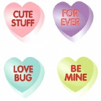 Conversation Hearts Asst 10CT