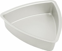 "Convex Triangle Pan 12"" X 2"""