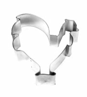 Cookie Cutter Rooster 3""