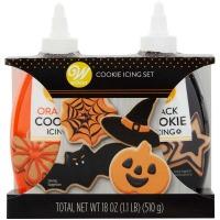 Cookie Icing Blk & Orange
