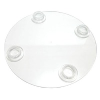 CRYSTAL SPLENDOR 4 HOLE PLATE