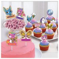 Cupcake Combo Rainbow Buttrfly