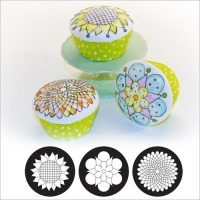 Cupcake Cookie Mats Blooms