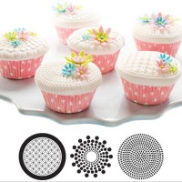 Cupcake Cookie Mats Geometric