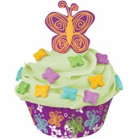 Cupcake Decoration Kit Butterfly