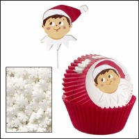 Cupcake Decoration Kit  Elf Shelf 24