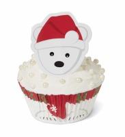 Cupcake Dec.Kit Polar Bear24