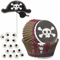 Cupcake Kit Pirate 12 CT