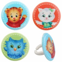 Cupcake Rings Cake Topper Daniel Tiger Best Friends