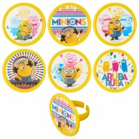Cupcake Rings Cake Topper Despicable Me