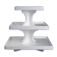 Cupcake Stand 3-Tier SQ (48)