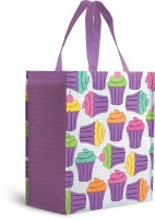 Cupcake Tote with Cupcake Boxes 5 PC