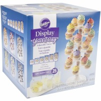 Cupcake Tower Clear 25CT
