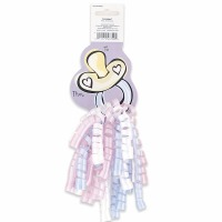 Curly Bow Gift Tag Baby