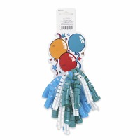 Curly Bow Gift Tag Balloons
