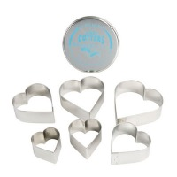 Cutter Set Hearts (Set of 6)