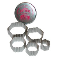 Cutter Set Hexagon (Set of 6)