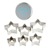 Cutter Set Stars (Set of 6)