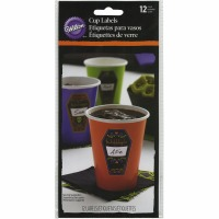 Deadly Soiree Cup Labels 6CT