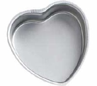 "Dec Preferred Heart Pan 10""X2"""