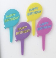 Decopics Birthday Balloons 12 ct.