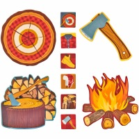 Decor Lumberjack Kit 77ct