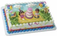 Decoset Dora Explorer Birthday