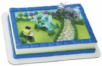 Decoset M.U. Mike and Sulley Cake Topper