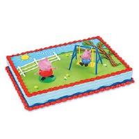 Decoset Peppa Pig Swing Set