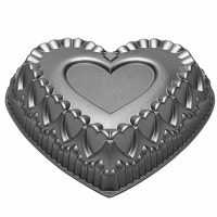 Dimensions Crown Hearts Pan