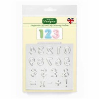 Domed Numbers - Silicone Katy Sue Designs
