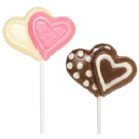 Double Heart Lollipop Mold