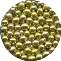 DRAGEE 5 MM GOLD-3.7OZ