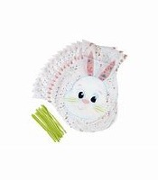 Easter Bunny Shaped Bags 15 CT
