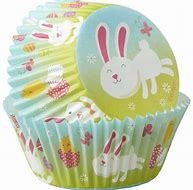 Easter Bunny Standard Baking Liner 75 CT