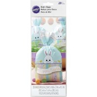 Easter Bunny Treat Bags 20 CT