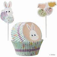 Easter Cupcake Bake Cups & Pix