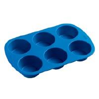 Easy Flex Silicone 6 Cup Mufin