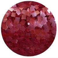 Edible Glitter Square Red 1/4 oz
