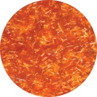 Edible Glitter 1/4 OZ Orange