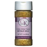 Edible Glitter 1OZ Metalic Gold