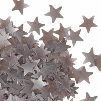 Edible Glitter Silver Stars .7